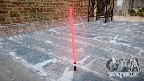 Sabre-Laser pour GTA 4 secondes d'écran