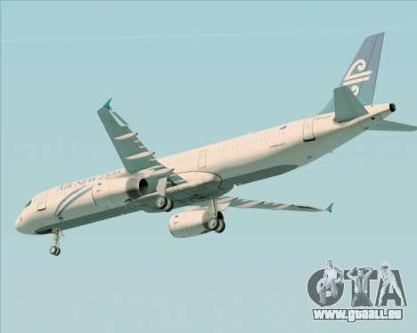 Airbus A321-200 Air New Zealand pour GTA San Andreas moteur