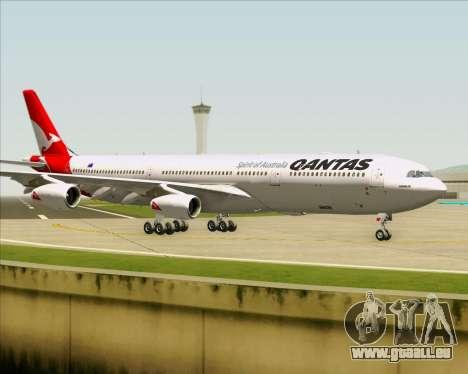 Airbus A340-300 Qantas pour GTA San Andreas vue intérieure