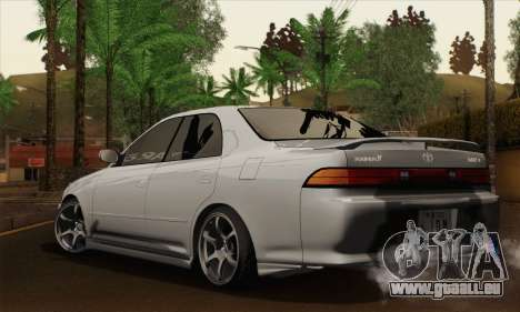 Toyota Mark 2 für GTA San Andreas linke Ansicht
