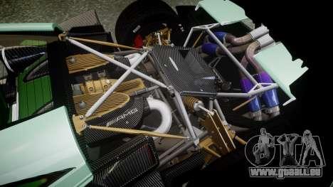 Pagani Huayra 2013 für GTA 4 Seitenansicht