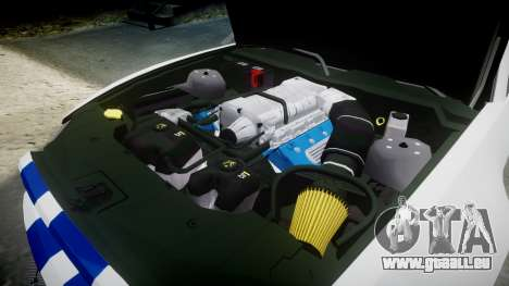 Ford Mustang GT 2014 Custom Kit PJ2 pour GTA 4 est un côté