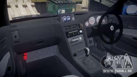 Nissan Skyline R-34 V-spec pour GTA 4 Vue arrière