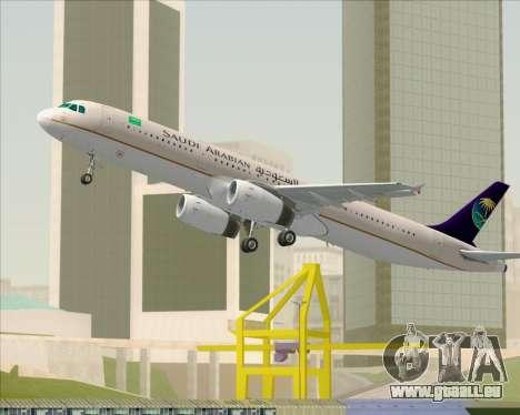 Airbus A321-200 Saudi Arabian Airlines pour GTA San Andreas