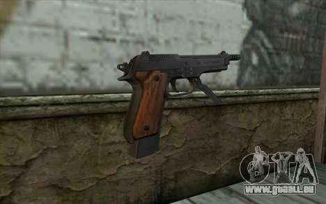 Beretta 93R pour GTA San Andreas deuxième écran
