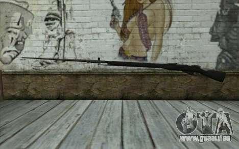 Die Gewehre Mosin-v14 für GTA San Andreas