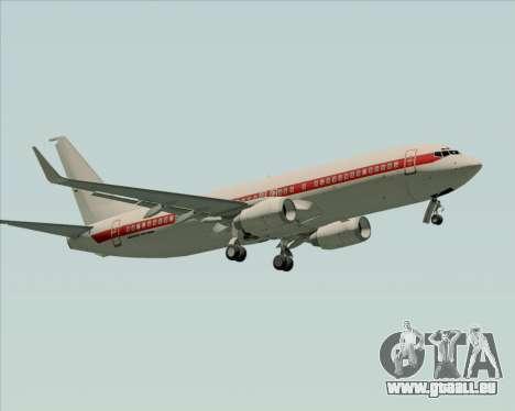 Boeing 737-800 EG&G - Janet pour GTA San Andreas vue intérieure