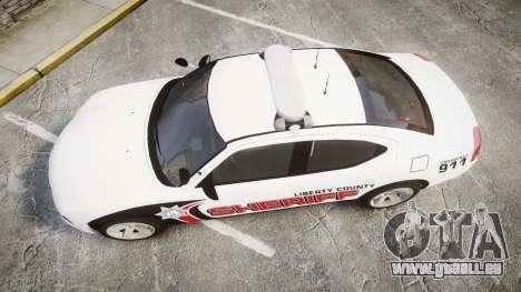 Dodge Charger 2010 LC Sheriff [ELS] für GTA 4 rechte Ansicht