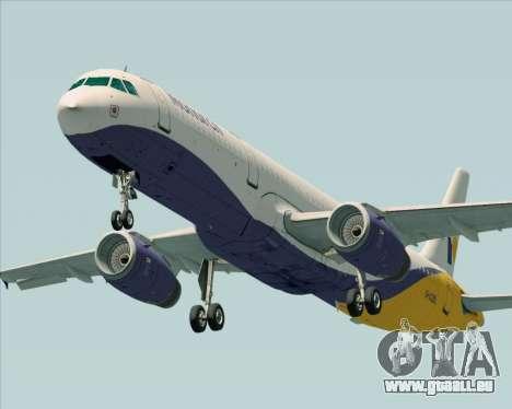 Airbus A321-200 Monarch Airlines für GTA San Andreas linke Ansicht