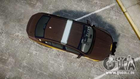 Ford Taurus Sheriff [ELS] Virginia pour GTA 4 est un droit