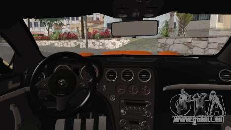 Alfa Romeo Brera RS GT-4 Mod pour GTA San Andreas vue de droite