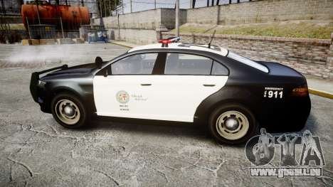 GTA V Vapid Interceptor LSP [ELS] für GTA 4 linke Ansicht