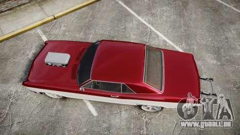 GTA V Albany Buccaneer Gen. II für GTA 4 rechte Ansicht