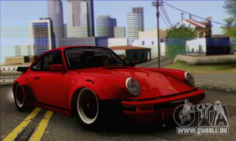 Porsche 930 Turbo Look 1985 Tunable für GTA San Andreas Innenansicht