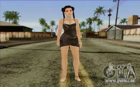 Pai from Dead or Alive 5 v2 pour GTA San Andreas