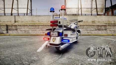 GTA V Western Sovereign LCPD [ELS] pour GTA 4 Vue arrière de la gauche