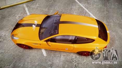 Ferrari FF 2012 Pininfarina Yellow für GTA 4 rechte Ansicht