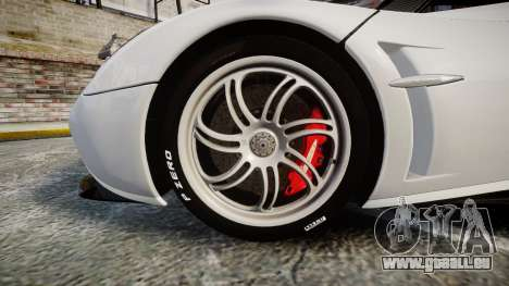Pagani Huayra 2013 [RIV] Carbon pour GTA 4 Vue arrière