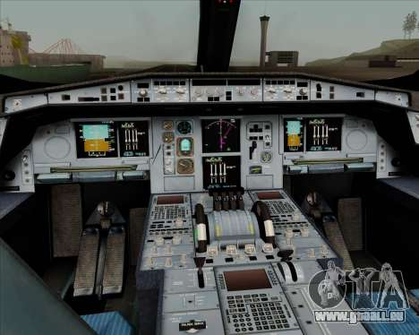 Airbus A350-900 Philippine Airlines pour GTA San Andreas salon