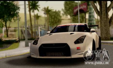 Nissan GTR Tuning für GTA San Andreas