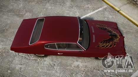 Pontiac Le Mans 1971 Rims1 pour GTA 4 est un droit