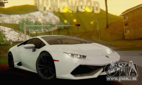 Lamborghini Huracan 2014 für GTA San Andreas