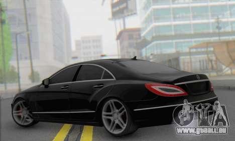 Mercedes-Benz CLS 63 für GTA San Andreas linke Ansicht