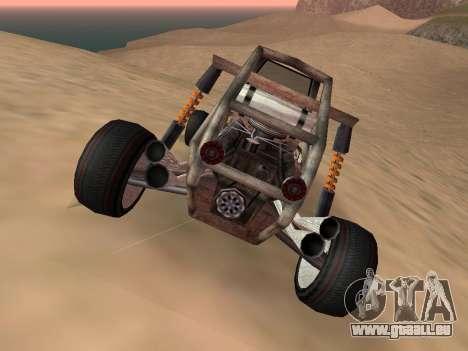 Aktualisiert Bandito für GTA San Andreas für GTA San Andreas zurück linke Ansicht