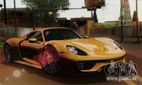 porsche 918 spyder 2013 pour gta san andreas. Black Bedroom Furniture Sets. Home Design Ideas