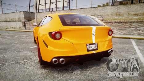 Ferrari FF 2012 Pininfarina Yellow für GTA 4 hinten links Ansicht