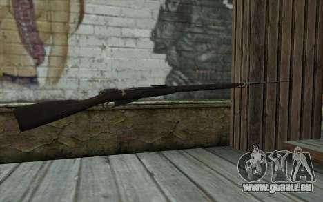 Mosin-v14 pour GTA San Andreas deuxième écran