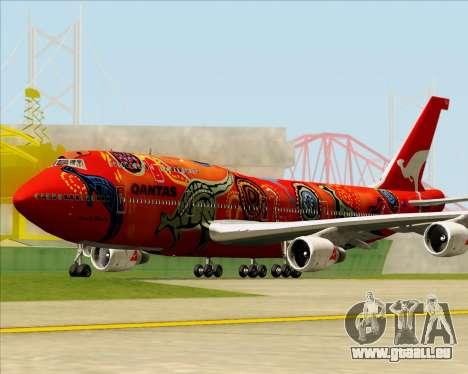 Boeing 747-400ER Qantas (Wunala Dreaming) für GTA San Andreas linke Ansicht