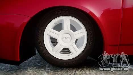 VAZ-2170 Priora roues en alliage pour GTA 4 Vue arrière