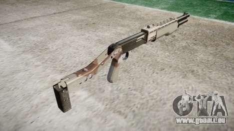 Ружье Franchi SPAS-12 Choco pour GTA 4 secondes d'écran