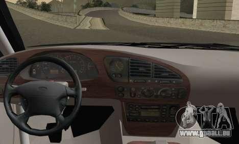 Ford Sierra Scorpion 4x4 RS Cosworth pour GTA San Andreas sur la vue arrière gauche