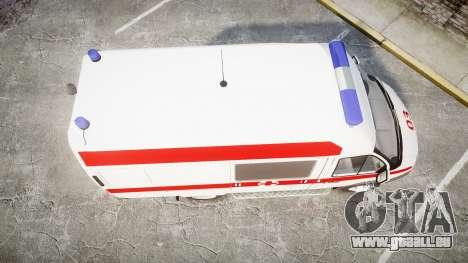 GAS-32214 Krankenwagen für GTA 4 rechte Ansicht