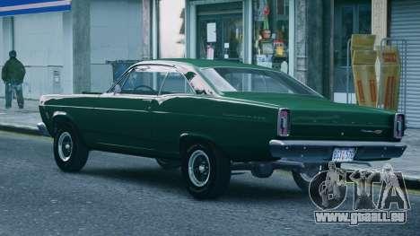 Ford Fairlane 500 1966 pour GTA 4 est une gauche
