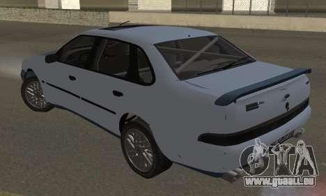 Ford Sierra Scorpion 4x4 RS Cosworth für GTA San Andreas linke Ansicht