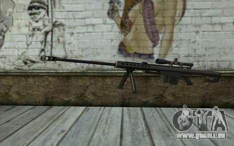 M107 pour GTA San Andreas