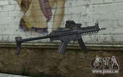 Silver MP5 pour GTA San Andreas deuxième écran