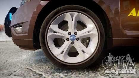 Ford Taurus Sheriff [ELS] Virginia für GTA 4 Rückansicht