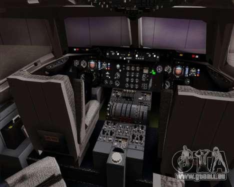 McDonnell Douglas DC-10-30 Singapore Airlines pour GTA San Andreas salon