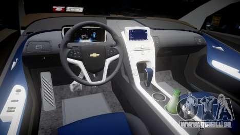 Chevrolet Volt 2011 v1.01 rims2 für GTA 4 Innenansicht