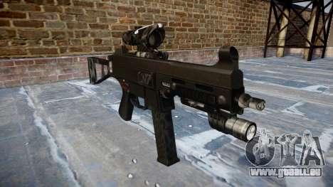 Pistolet UMP45 Kryptek Combats pour GTA 4