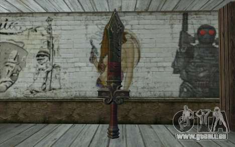 Sword from World of Warcraft für GTA San Andreas