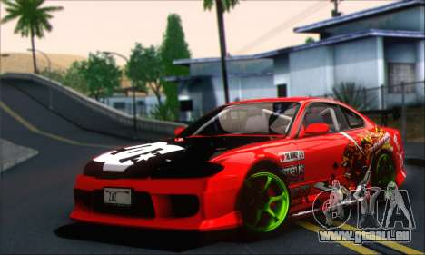 Nissan Silvia S15 Team Drift Monkey pour GTA San Andreas