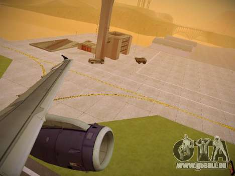 Airbus A321-232 Monarch Airlines pour GTA San Andreas roue