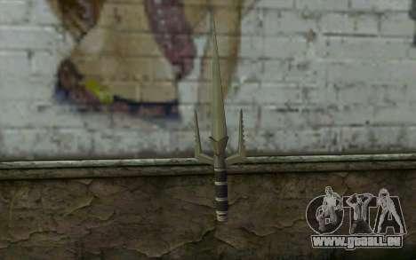 Knife from Deadpool für GTA San Andreas zweiten Screenshot