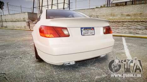 GTA V Benefactor Schafter pour GTA 4 Vue arrière de la gauche
