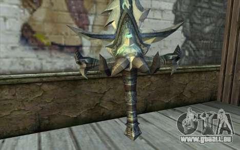 Sword from World Of Warcraft-Frostmourne pour GTA San Andreas deuxième écran